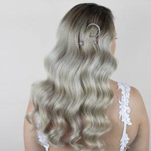Galaxy Hair slides