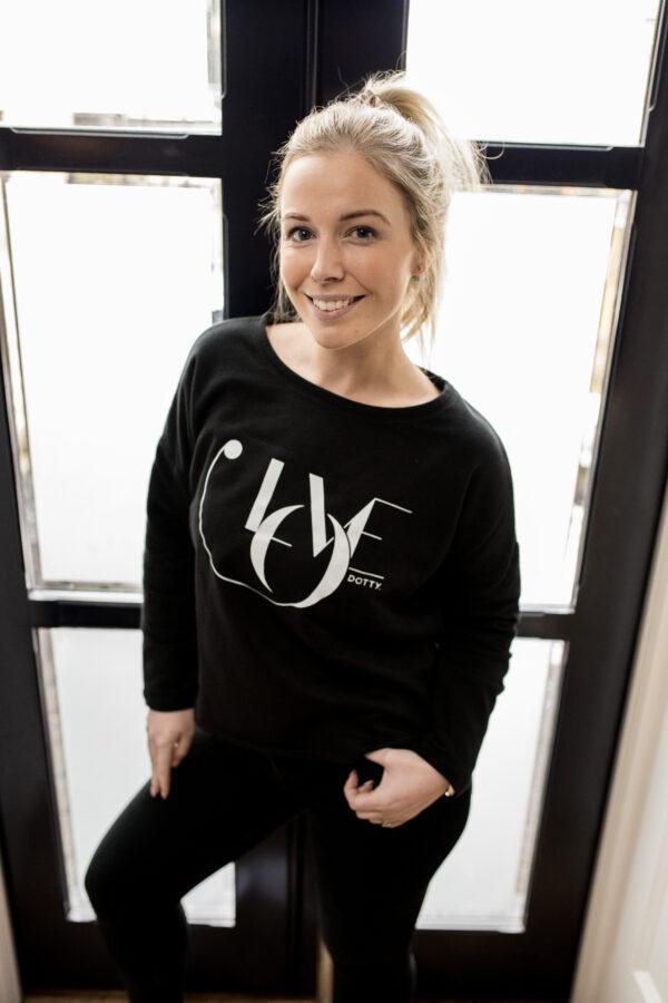 Love Oversized Sweatshirt